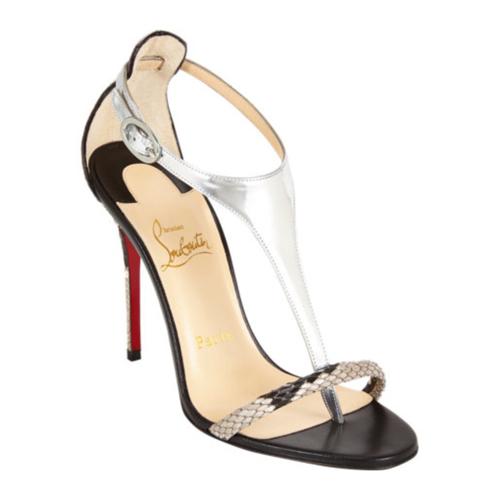 Christian Louboutin Athena Alta T-Strap Sandals