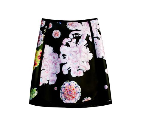 Cynthia Rowley Bonded Slim Skirt 2