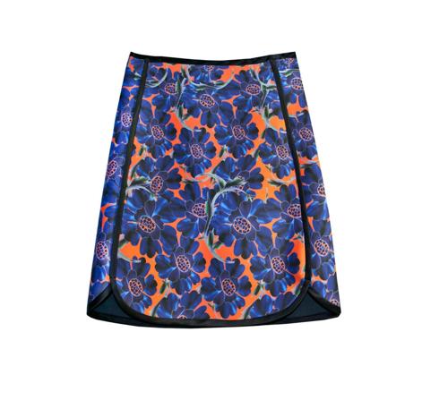 Cynthia Rowley Bonded Slim Skirt