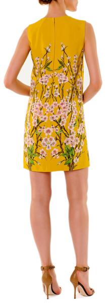 Dolce & Gabbana Floral Blossom Printed Mini Shift Dress 2