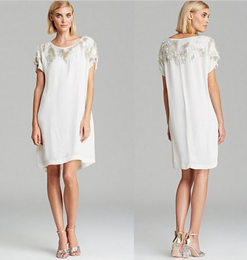 French Connection Icicle Storm Dress 4