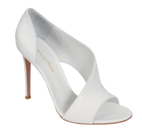 Gianvito Rossi Asymmetrical Sandal