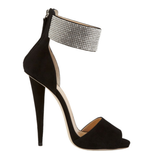 Giuseppe Zanotti Crystal Ankle Cuff Sandal 3