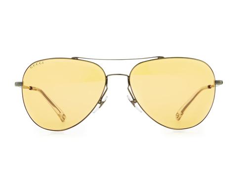 Gucci Flash-Lens Aviator Sunglasses 2