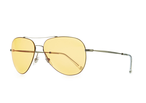 Gucci Flash-Lens Aviator Sunglasses