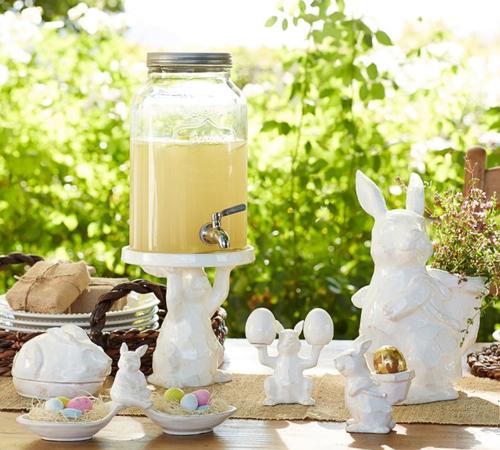 Pottery Barn Mason Jar Drink Dispenser 3