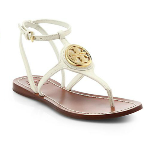 Tory Burch Leticia Leather Thong Sandals 2