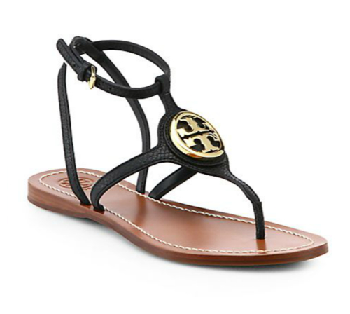 Tory Burch Leticia Leather Thong Sandals 3