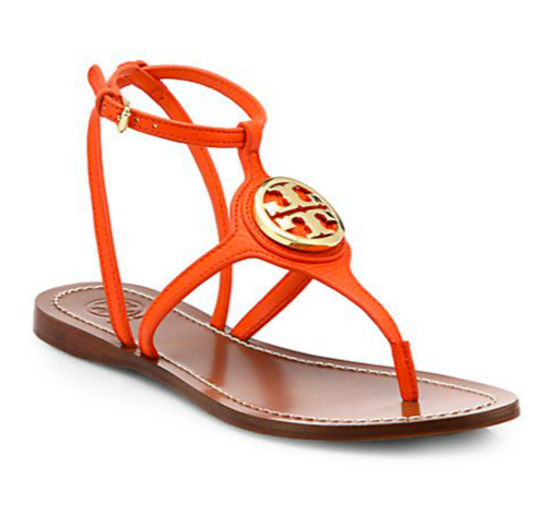 Tory Burch Leticia Leather Thong Sandals