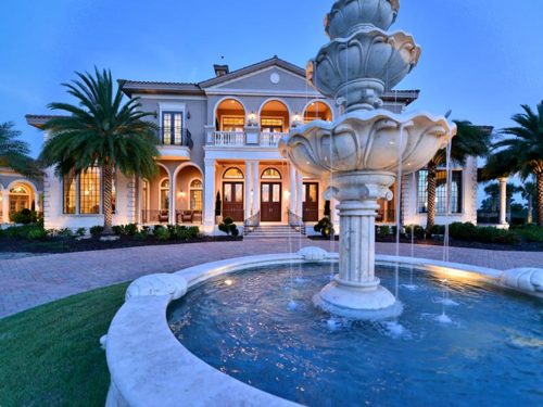 Estate of the day 16 5 million mansion paradise in for Mega mansions in florida