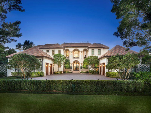 $18.5 Million Luxurious Mansion in Naples Florida