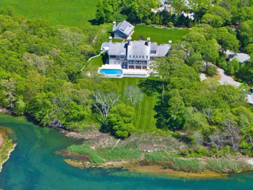$28.9 Million Magnificent Waterfront Mansion in East Hampton New York