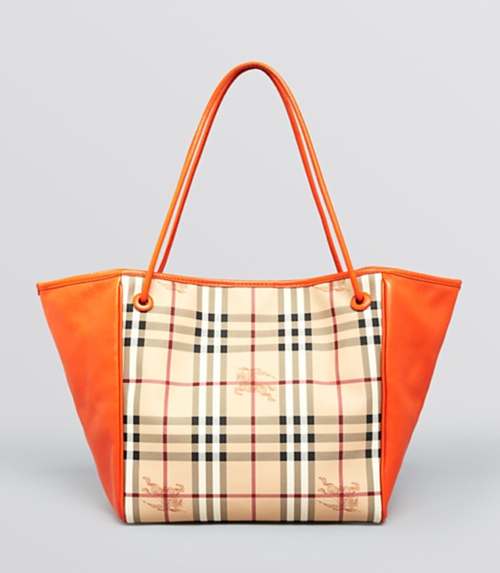 Burberry Haymarket Knots Small Canterbury Tote