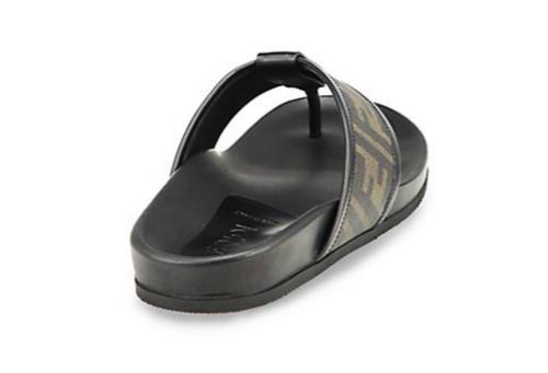 Fendi Zucca Logo Thong Sandals 3