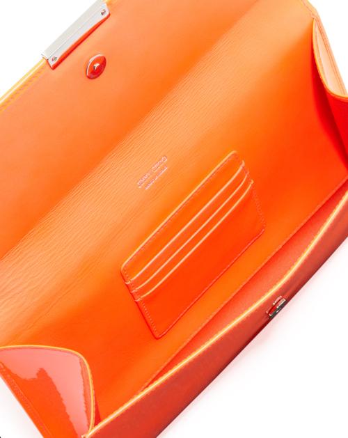 Jimmy Choo Reese Large Flap Clutch Bag 2