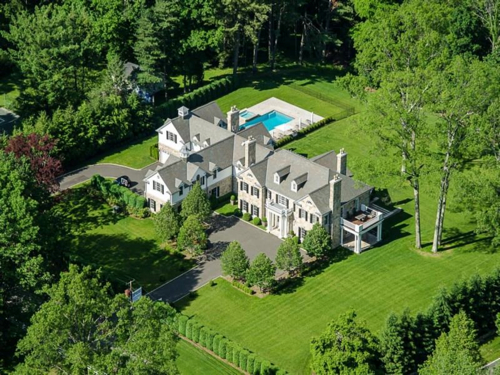 $16.2 Million Timeless Georgian Manor in Greenwich Connecticut
