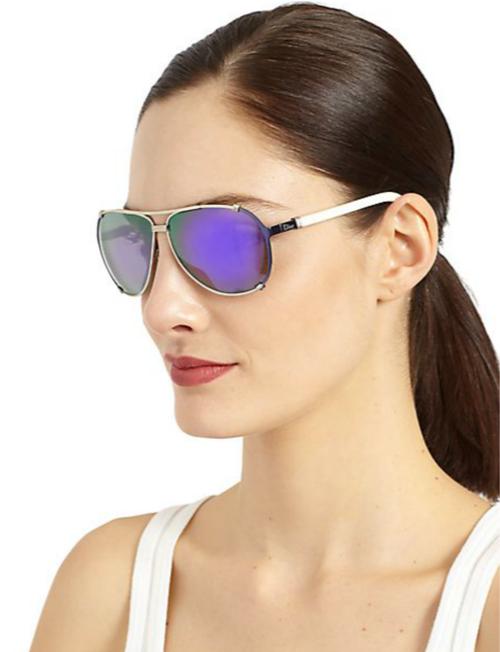 Dior Metal Aviator Sunglasses 2