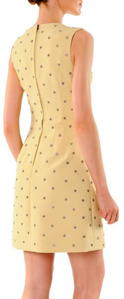 Dolce & Gabbana Dotted-Crystal A-Line Dress 2