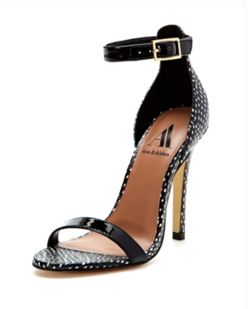 Gilt Group's Ava and Aiden Pipa Two-Piece High Heel Sandal