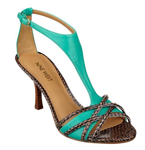 Nine West Borrow Open Toe T-Strap Sandal
