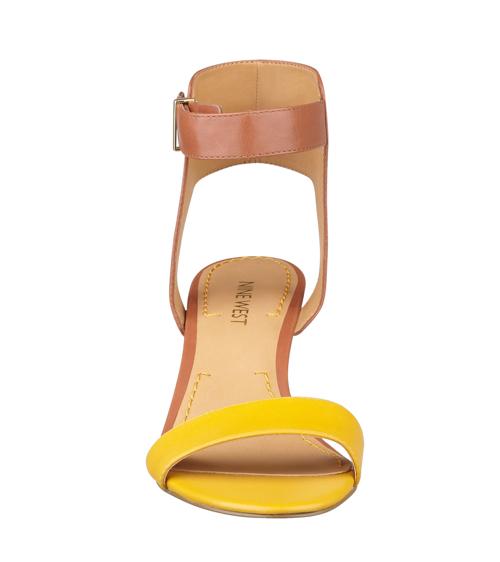 Nine West Radefade Open Toe Ankle Strap Sandals 5