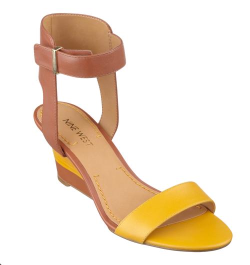 Nine West Radefade Open Toe Ankle Strap Sandals