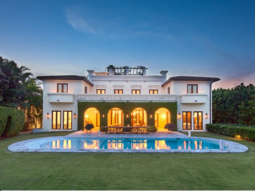 $11.4 Million Italian Villa in Miami Florida