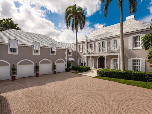 $15.5 Million British Colonial Style Estate in Palm Beach Florida