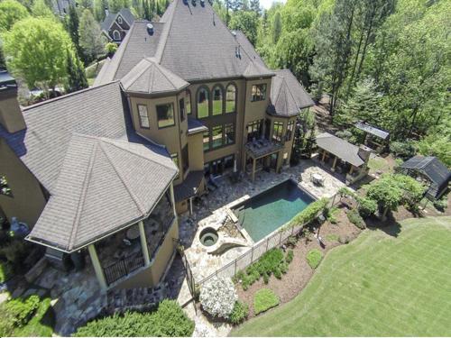 $2.5 Million Gated Riverfront European Style Estate in Georgia 2