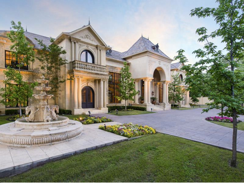 Estate of the day 3 4 million french country mansion in for French country houses for sale