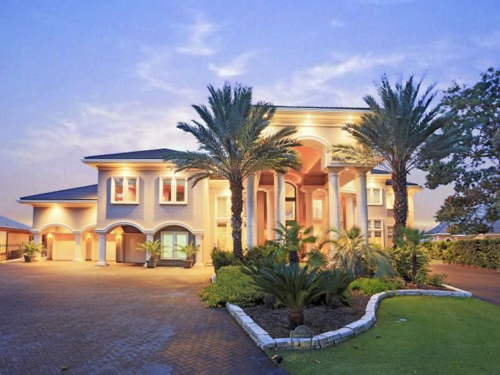 $3.8 Million Contemporary Mansion in Montgomery Texas