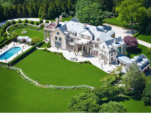 $49.5 Million Villa Maria Waterfront Mansion in Water Mill New York