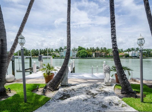 $6.3 Million Mediterranean Waterfront Estate in Miami Beach Florida 11