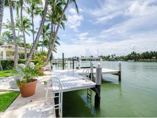 $6.3 Million Mediterranean Waterfront Estate in Miami Beach Florida 3