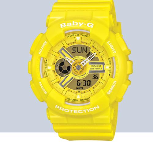 Baby-G Yellow Watch