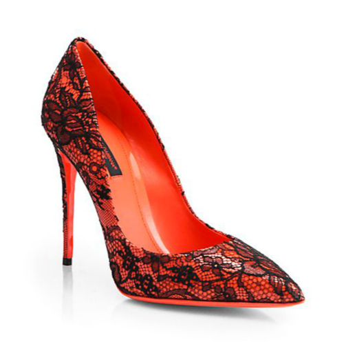 Dolce & Gabbana Kate Lace Pumps 4