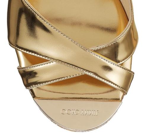 Jimmy Choo Perfume Cork Wedge Sandal 4