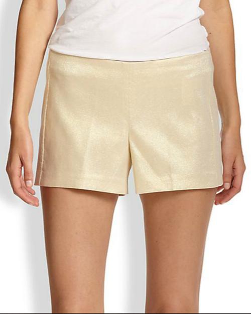Lilly Pulitzer Metallic Liza Shorts