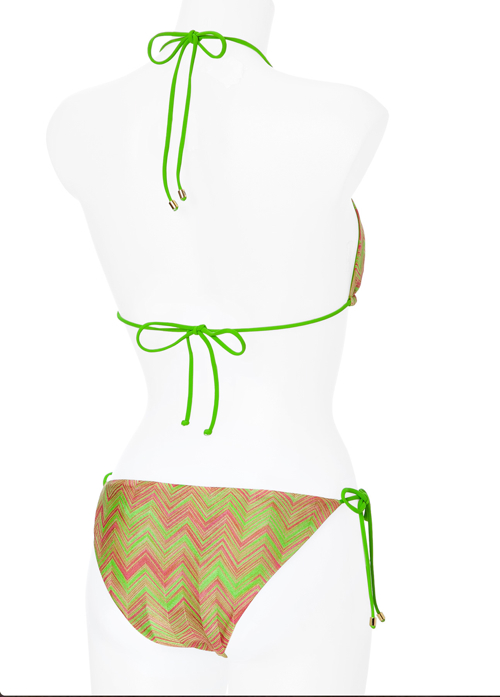 Missoni Mare 10th Anniversary Knit Triangle Bikini 2