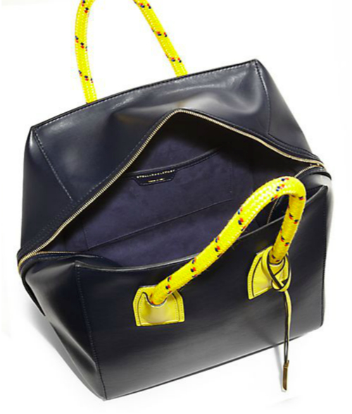 Stella McCartney Rope-Handle Faux-Leather Boston Bag 2