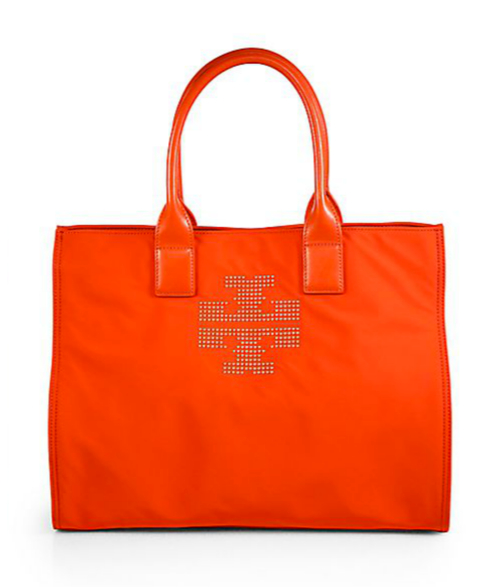 Tory Burch Ella Studded Nylon Tote