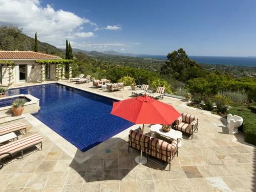 $13 Million Italian Villa Style Mansion in Montecito California 4