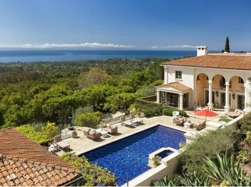 $13 Million Italian Villa Style Mansion in Montecito California