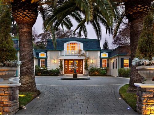 $14.9 Million French Manor Mansion in Palo Alto California 2