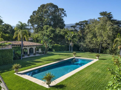 $15.9 Million Spanish Mansion in Montecito California 10