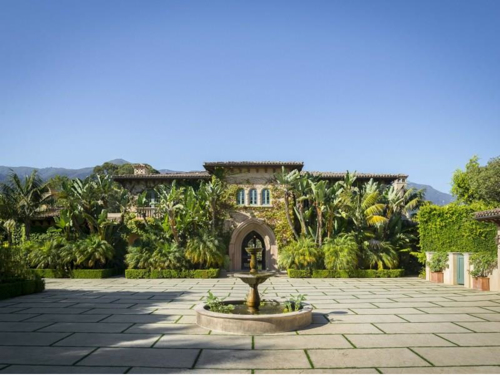 $15.9 Million Spanish Mansion in Montecito California 11