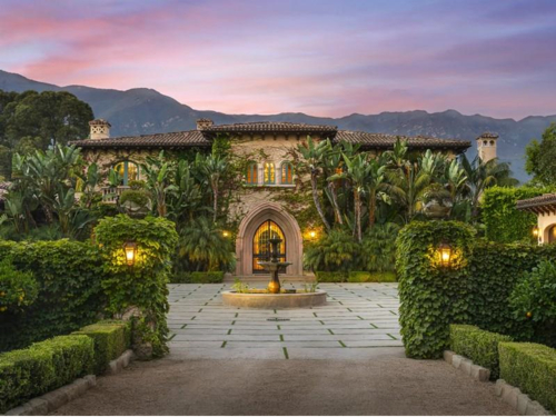$15.9 Million Spanish Mansion in Montecito California