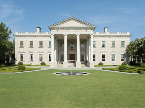 Estate Of The Day 19 5 Million White House Style Mansion