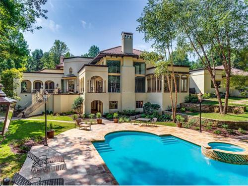 $2.8 Million Mediterranean Mansion in Charlotte North Carolina 18