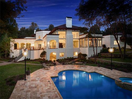 $2.8 Million Mediterranean Mansion in Charlotte North Carolina 19